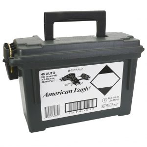American Eagle 45 Auto 300Rnds Plano Box - Backcountry Sports